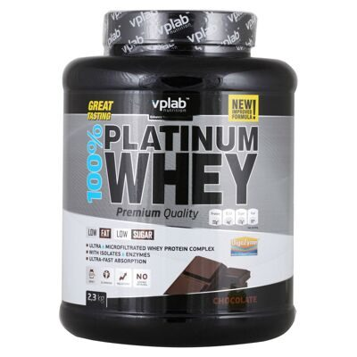 VP Laboratory. 100% Platinum Whey 2300 г шоколад