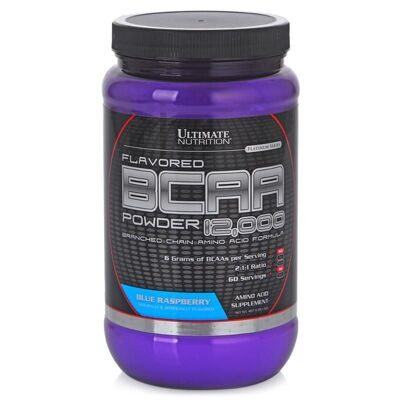 Ultimate Nutrition. BCAA 12000 450 г ежевика