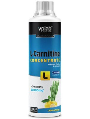 VP Laboratory. L-Carnitine concentrate, 0,5л, лимонник