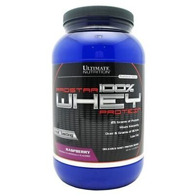 Ultimate Nutrition Prostar Whey, 900 г - клубника