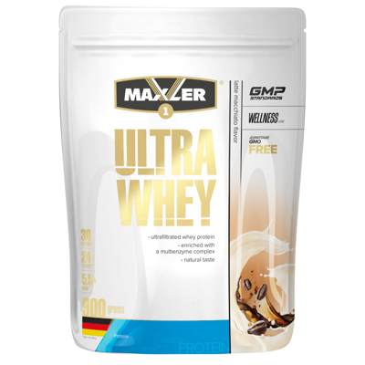 Maxler Ultra Whey 900 г Latte Machiato