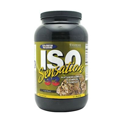 Ultimate Nutrition ISO Sensation 908 г - шоколадный мусс