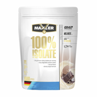 Maxler 100% Isolate  900 г  клубника