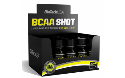 BioTech USA BCAA Shot  60 мл лайм