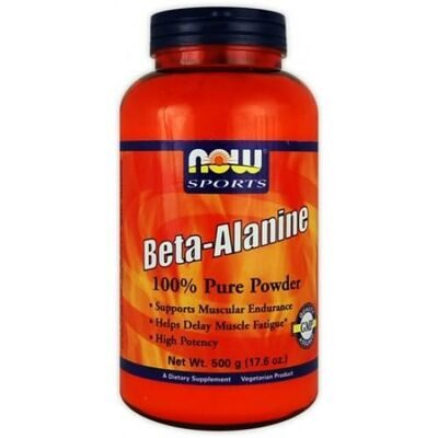 NOW Beta Alanine Powder 500 г