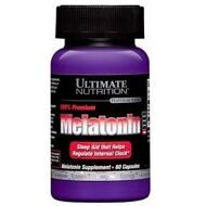 Ultimate Nutrition Melatonin 3 mg 60 капс