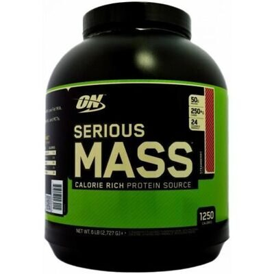 Optimum Nutrition. Serious Mass 2720 гр. клубника
