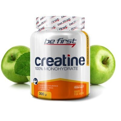 Be First Creatine powder 300 г яблоко