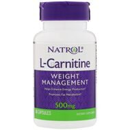 Natrol: L-Carnitine 500mg (30 капс.)
