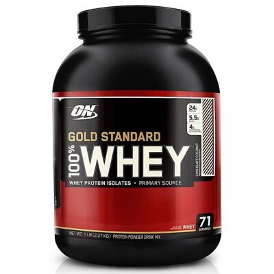 ON. 100 % Whey protein Gold standard 2270 г Mocha Cappuccino