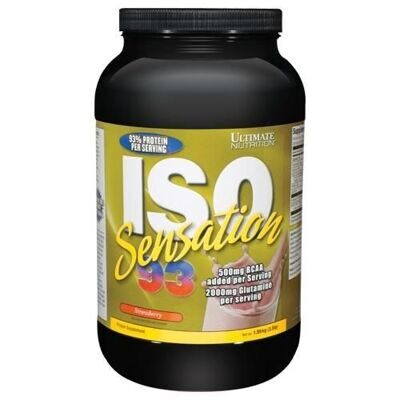 Ultimate Nutrition ISO Sensation 908 г - клубника