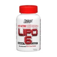 Nutrex LIPO 6 Maximum Strenght 120 кап
