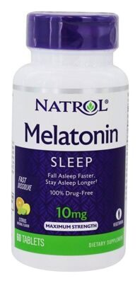 Natrol Melatonin10 mg 60 таб
