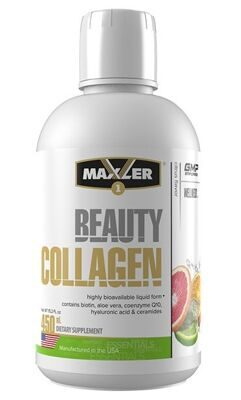Maxler Beauty Collagen 450 мл цитрус, персик-манго