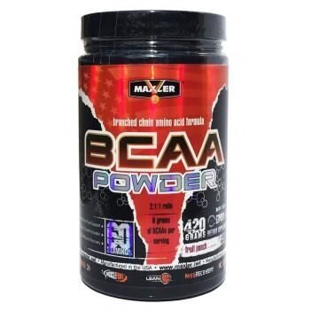 Maxler BCAA Powder 420 г яблоко