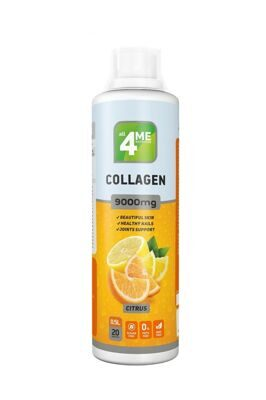4Me Nutrition Collagen concentrate 9000  500 мл лимон-апельсин