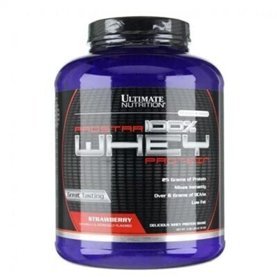 Ultimate Nutrition Prostar Whey, 2270 гр - клубника