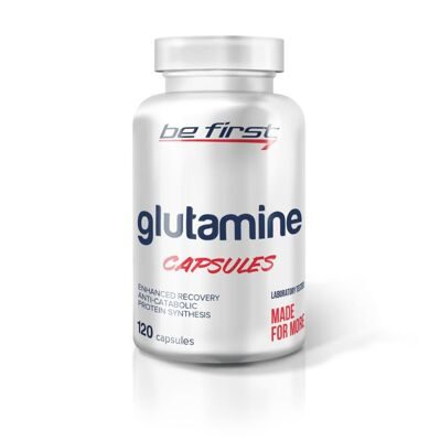 Be First: GLUTAMINE capsules (120 капс.)